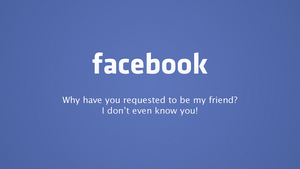 The Reality of Facebook by theIntensePlayer