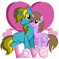 LOVE Dandy and Domina (OCS) by RavenEvert