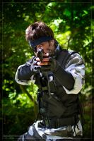 Snake takes aim by Kenshiro-FDP