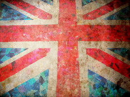 Flag United Kingdom Grunge by fireflies08