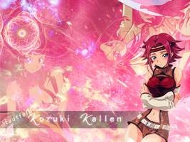 Kallen Kozuki Wallpaper by RavenTheSilence