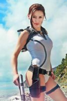 Lara Croft,Underworld_3 by Elen-Mart