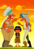 indians discussing by franki02