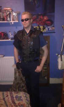 Wesker progress by FFzidane