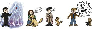 SPN: Dog Days by blackbirdrose
