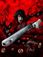 Hellsing ultimate by fullmetalschoettle