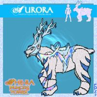 my concept for Frosta's steed by OctobersDream
