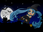The little witch Miku by Rezaforum