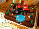 Off roading cake by garfey