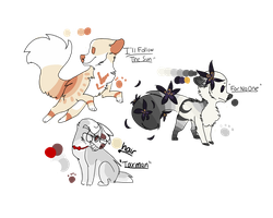 Beatles Song Themed Adopts (Auction) by Hsria