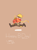 B-day Engie by EunDari