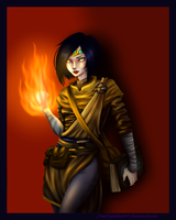 Fire Mage by ImoExploder007