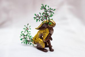 Oak Hare by Strepetarh