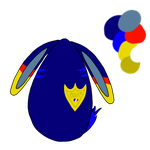 OTA police bunny egg-MOVED by ButtonsTheCat-Adopts