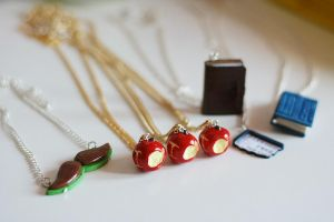 Superwholock! Charms and necklaces by Travasata