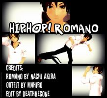 .:[APHMMD]:. Hiphop!Romano [NEWCOMER] by DeathBeGone