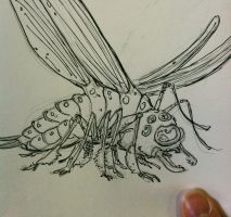 Ghibli-inspired insect by NycterisA