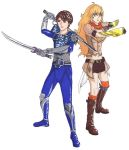 Request: Helder/Makai and Yang Xiao Long by Miraby