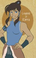 Legend of Korra by chocowaffle
