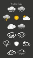Weather Icons by Sed-rah