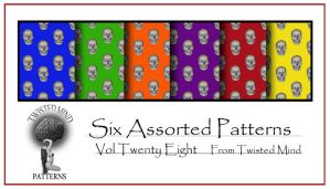 Twisted Mind Assorted Pattern Set 28 by Textures-and-More