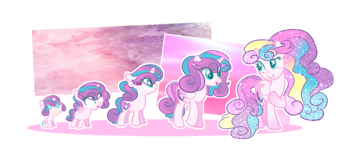 [MLP:FiM] Princes Next Gen: Flurry Heart by NoEmocialPony