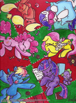 MLP - Filly Sleepover by Genolover
