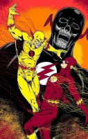 The Flash: Death Race by StevJVaz72