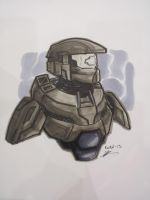 FanExpo Master Chief by AndrewKwan