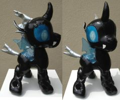 pvc fabric changeling by Plushypuppystudio