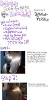 Kabuto Wig Tutorial of Doom by Distorted-Plushie