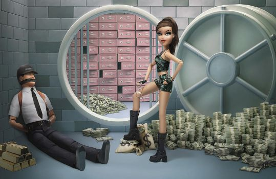 Bank robbery by NM-art