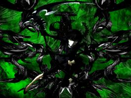 Black Rock Shooter Wallpaper #4 by KamuDesignz