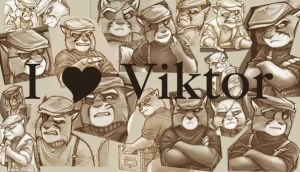 I Love VIktor by tarastarr1