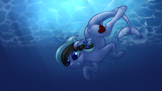 Ashee Diving by MarsMiner