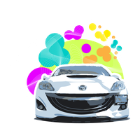mazda abstract by Lucora