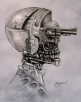 The mind is a gun by FEIGUR