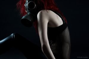 Gasmask photosession6 by Sierau