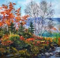autumn in mountains (part 1) by DariaGALLERY