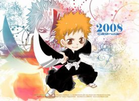 Bleach 2008 Calendar by siguredo