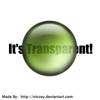 Transparent Glass Circle by niccey