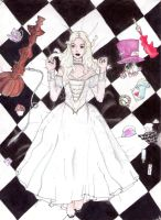White Queen by ryuukoelric