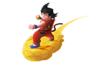 Goku by Daeron-Red-Fire