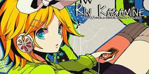Rin Kagamine | Firma / Signature by ShoshiiAlex