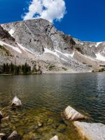 Medicine Bow Peak by DeTea