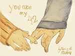 You're my 42 by LolaLazz