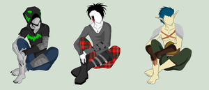 Male Outfit Adopts - SOLD by ShadowInkAdopts