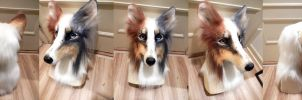 Sheltie Fursuit Head by AlieTheKitsune