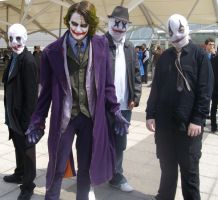 Joker and his Henchmen by lunamaxwell