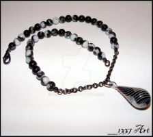 Thought Contrast Choker by 1337-Art